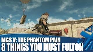 MGSV The Phantom Pain - 8 Things You Must Fulton