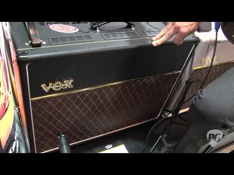 Summer NAMM '11 - Vox Amplifiers AC15C2 Twin Demo