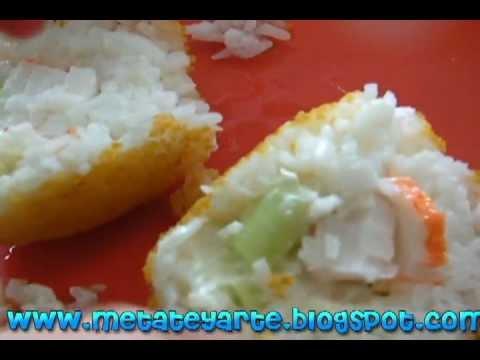 bolas de arroz  YouTube