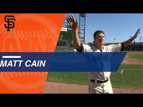 Check out the highlights of Matt Cain's final start