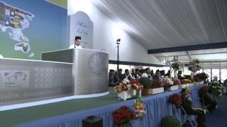 Jalsa Salana UK 2012: Day 3 Speech, Jahangeer  Sahib