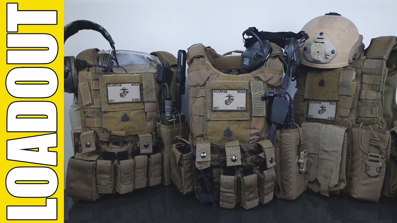 airsoft loadout scarfab94 marines force recon gear