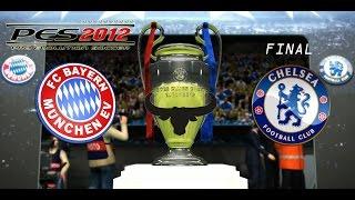 PES 2012 UEFA Champions League - Chelsea vs Bayern Munich - FINAL