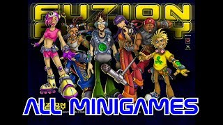 Cyber Plays: Fuzion Frenzy - All Minigames (Minigame Frenzy)