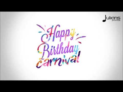 "Patch - Carnival Birthday ""2017 Soca"" (Trinidad)"