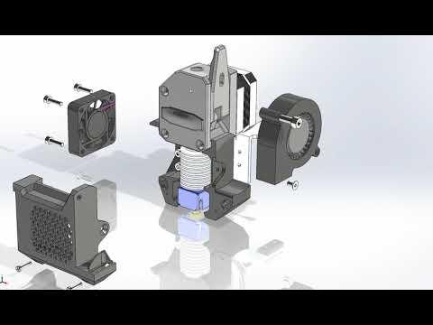 bmg e3d mount assembly