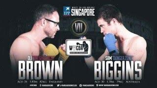 IPP White Collar Boxing Singapore April 2016 - Bout 7