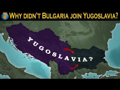 Why wasn't Bulgaria a part of Yugoslavia?