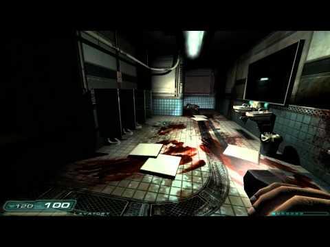 Doom 3 - Alpha Labs 2 Bathroom