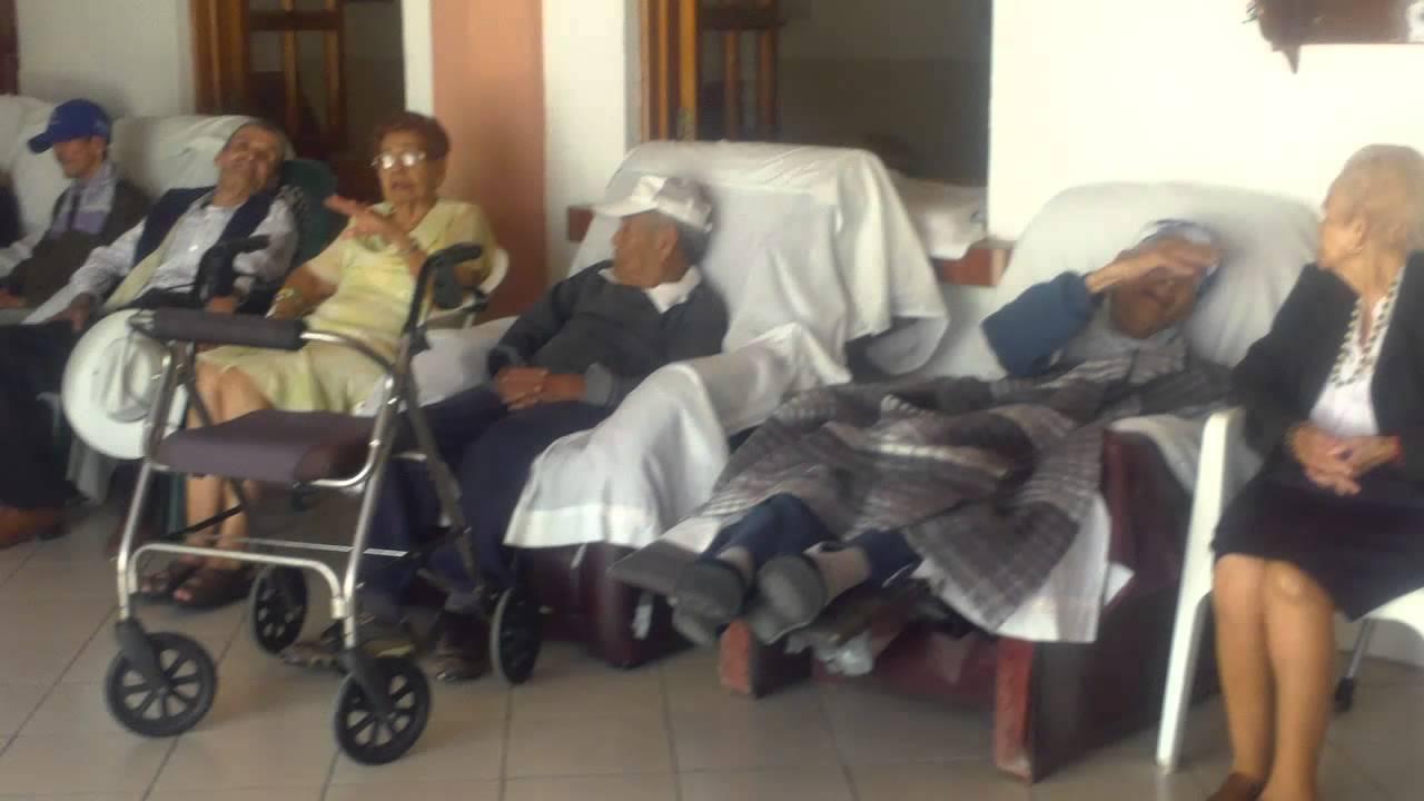 Visita al asilo de ancianos nayarit mexico parte 2 youtube for Asilos para ancianos