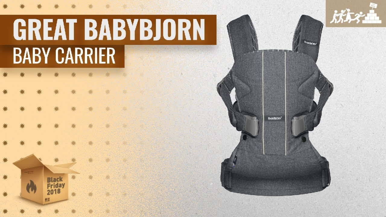 012d3c16aa8 48% Off BABYBJORN Baby Carrier Black Friday   Cyber Monday 2018
