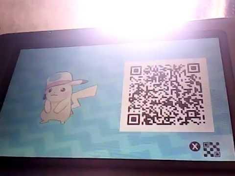 Unova Cap Pikachu Qr Code Youtube