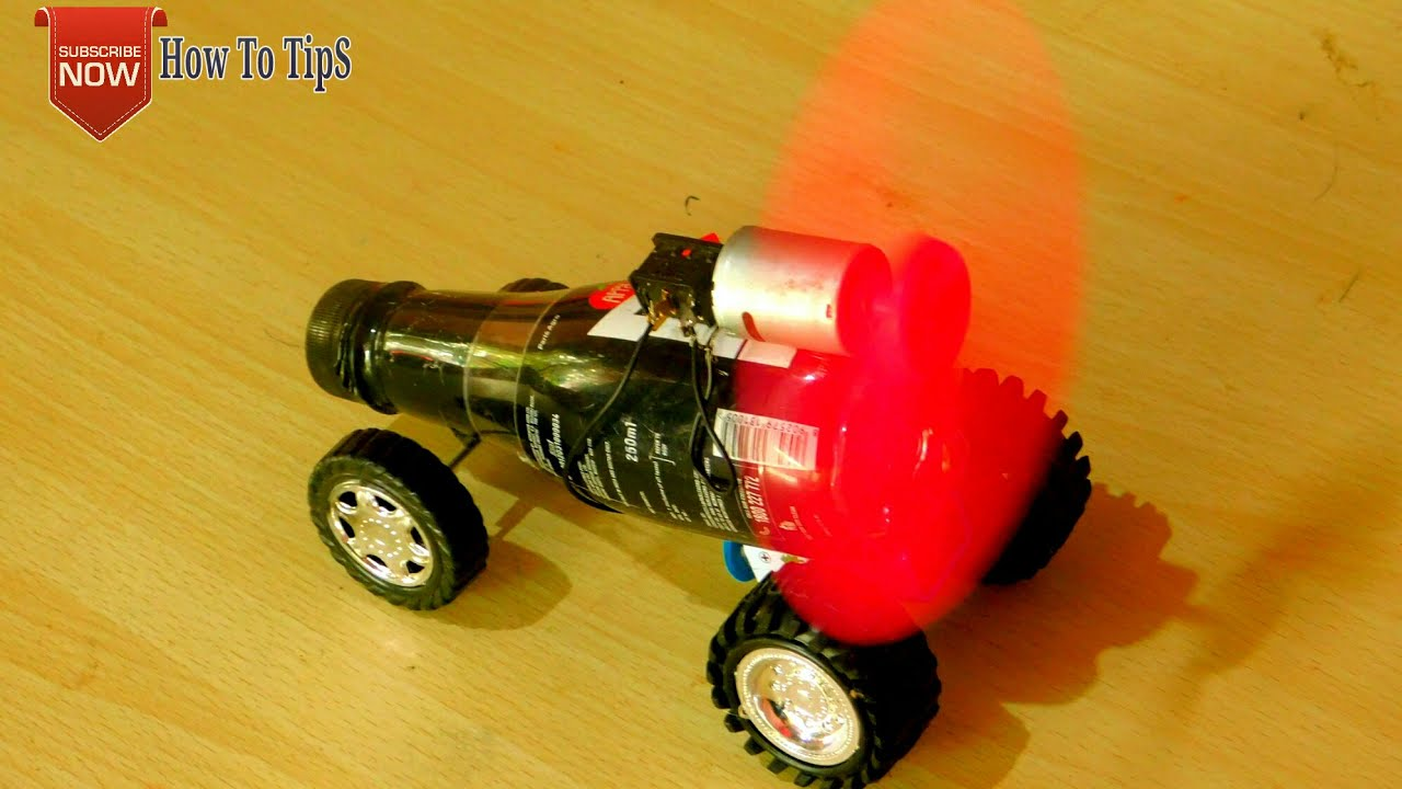How To Make A Car With Plastic Bottle And Dc Motor Latest