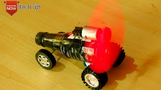 How to make a car with plastic bottle and DC motor| Latest technology toy.