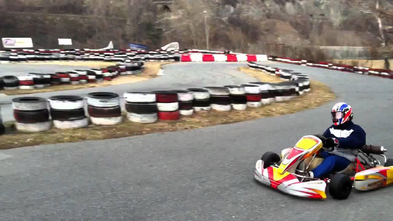 Giro Kart Intrepid 100cc A Pontey Ao 190212 Youtube