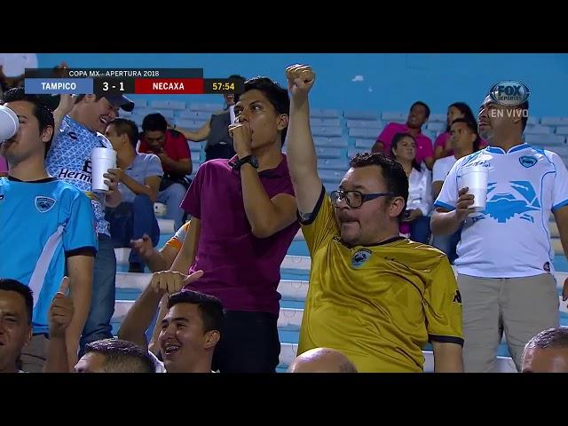 GOL: Tampico Madero 3-1 Necaxa