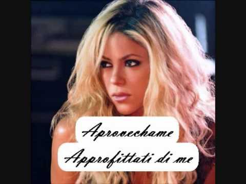 Shakira - Gitana (testo italiano/spagnolo)