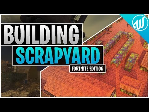 Fortnite : Recreating (Building) Call of Duty MW2 Scrapyard on LTM Playground Mode! thumbnail