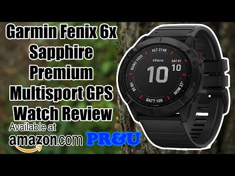 Garmin Fenix 6x Sapphire Premium Multisport GPS Watch Review products review & unboxing Garmin Watch