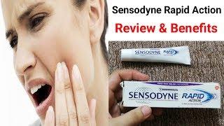 Sensodyne Toothpaste Rapid Action Review   Sensodyne Toothpaste Benefits Urdu   Hindi