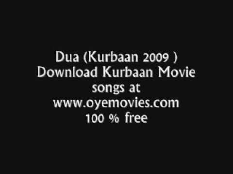 dua Kurbaan 2009 Movie song download at www oyemovies com