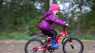 Обзор детского велосипеда. Шесть скоростей в шесть лет.