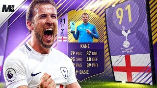 FIFA 18 91 POTM KANE REVIEW | 91 SPOTM KANE PLAYER REVIEW | FIFA 18 ULTIMATE TEAM