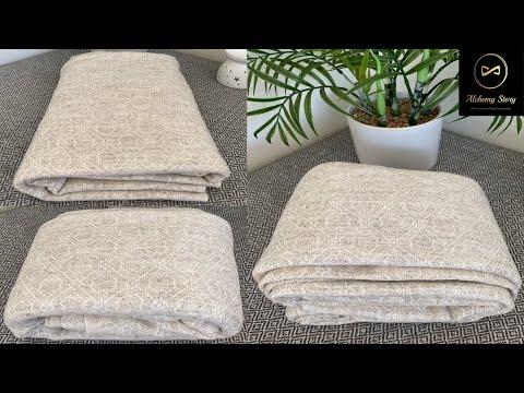 Cream Geometric Cashmere Blanket Throw   Baby Blanket   Meditation Shawl   Alchemy Story #shorts