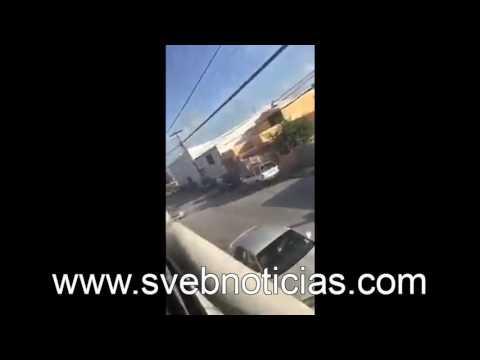 Balaceras y persecuciones hoy en Matamoros Tamaulipas