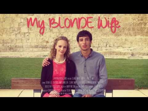 My BLONDE Wife - Interactive Film Poster