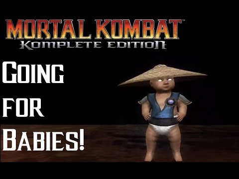 BABIES EVERYWHERE! Mortal Kombat 9 With Dink! thumbnail