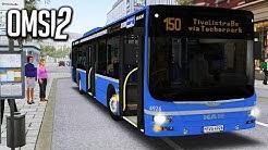 OMSI 2 — Linie 150 mit dem MAN Lion's City — München City