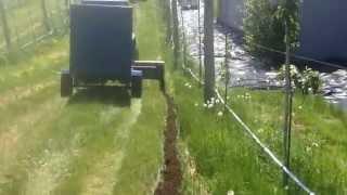 Épandeur à compost pour verger 20 tonne à l