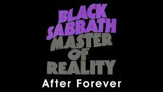 Black Sabbath - After Forever (lyrics)