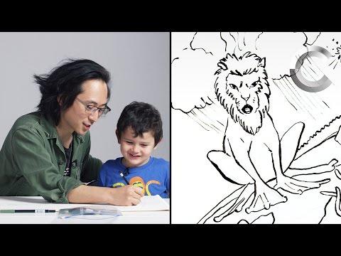 Ernie Describes God to an Illustrator