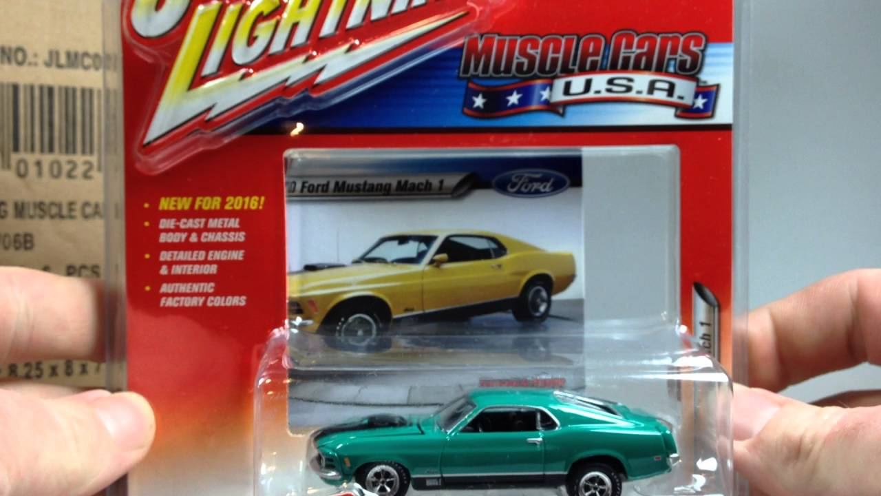 Johnny Lightning Muscle Cars Usa Release Youtube