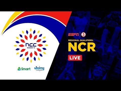 LIVE: NCR Regional Qualifiers | NCC Season 14