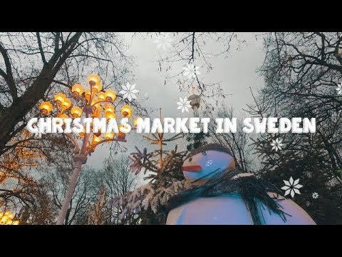 Christmas Market in Sweden