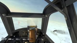 IL2 Battle of Stalingrad Bf109 Dogfight