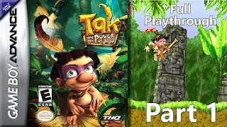Tak and the Power of Juju GBA Full Playthrough - Part 1