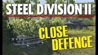 CLOSE DEFENCE! Steel Division 2 BETA Gameplay (Tsel, 2v2)
