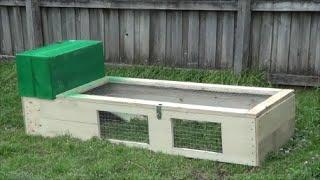 Cheap D.i.y Rabbit Guinea Pig Hutch/run