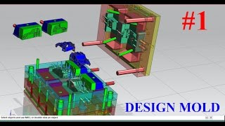NX Mold wizard Tutorial Part 1 : How to create a project mold in nx