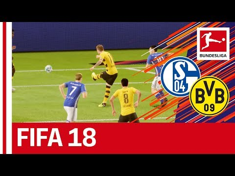 Schalke vs dortmund - fifa 18 prediction with ea sports