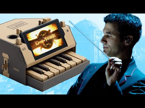 Game of Thrones Composer Plays the Theme on a Nintendo Labo