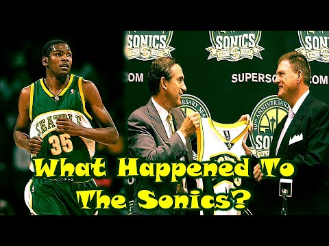 How The Seattle Supersonics REALLY Lost Their NBA Team