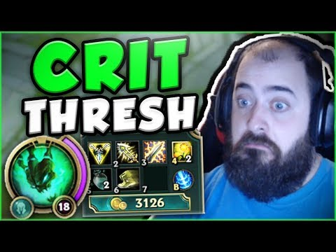 Download Youtube: HOW BUSTED IS THIS CRIT THRESH BUILD IN TOP LANE? NEW CRIT THRESH TOP GAMEPLAY! - League of Legends