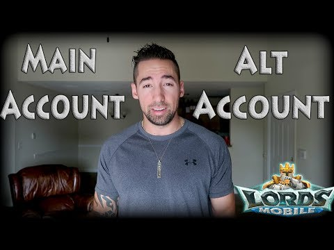 Lords Mobile Main Account Or Alt Account (POSSIBLE T4 GIVEAWAY)