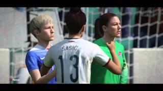 DÉMO DE FIFA 16 Sélection féminine