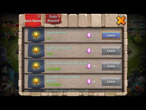 Castle Clash - 100 Guild Chest Opening!!